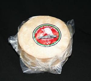 Queso oveja curado en manteca